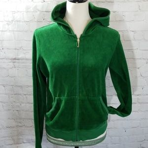 Juicy Couture Green Robertson Hoodie